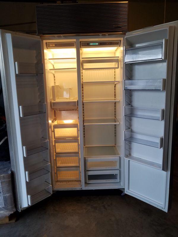 Subzero refrigerator/freezer