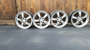 A set of TSW 17 inch rims for Sale in Elmhurst, IL