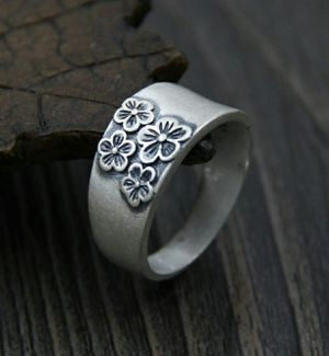 Antique Vintage 990 Sterling Silver Thumb Ring for Sale in Wichita, KS