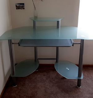 Glass desk for Sale in Hayward, CA