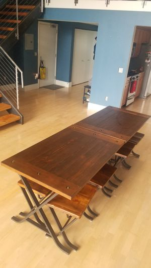 Ashley Furniture Wooden Dining Table (2) for Sale in San Francisco, CA