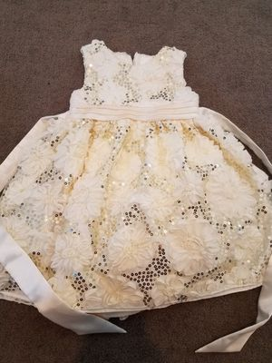 Girls Wedding/flower Dress Size 3T for Sale in Brighton, CO