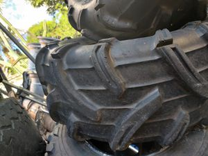 26x12-12 and 26x10-12 mud bug ATV tires and rims for Sale in Lake Worth, FL