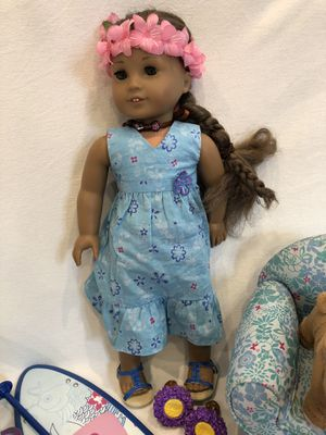 American Girl Doll, Kanani. Accessories, clothing, shoes. for Sale in Portola Hills, CA