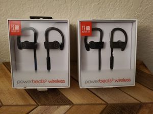 Apple Powerbeats 3 Wireless Headphones - Black for Sale in Lake Forest, CA