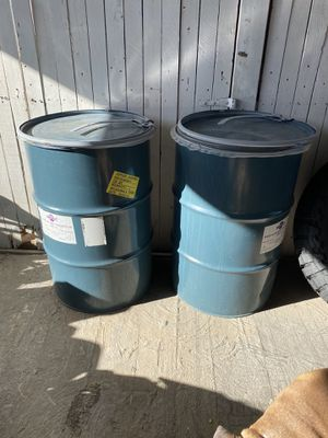 55 Gallon Drum With in In-Line Plastic Bag-Had Grape Juice inside-$25 each-Firm in Price for Sale in El Paso, TX