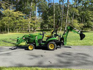 John Deere - 1025R Tractor, Loader, Backhoe for Sale in Sully Station, VA