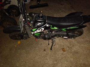 110cc 4 wheeler good condition jus needs battery can turn it on for you 450$ 400 the less I take for Sale in Dallas, TX