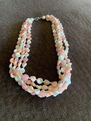 Coral colored necklace for Sale in Hoquiam, WA