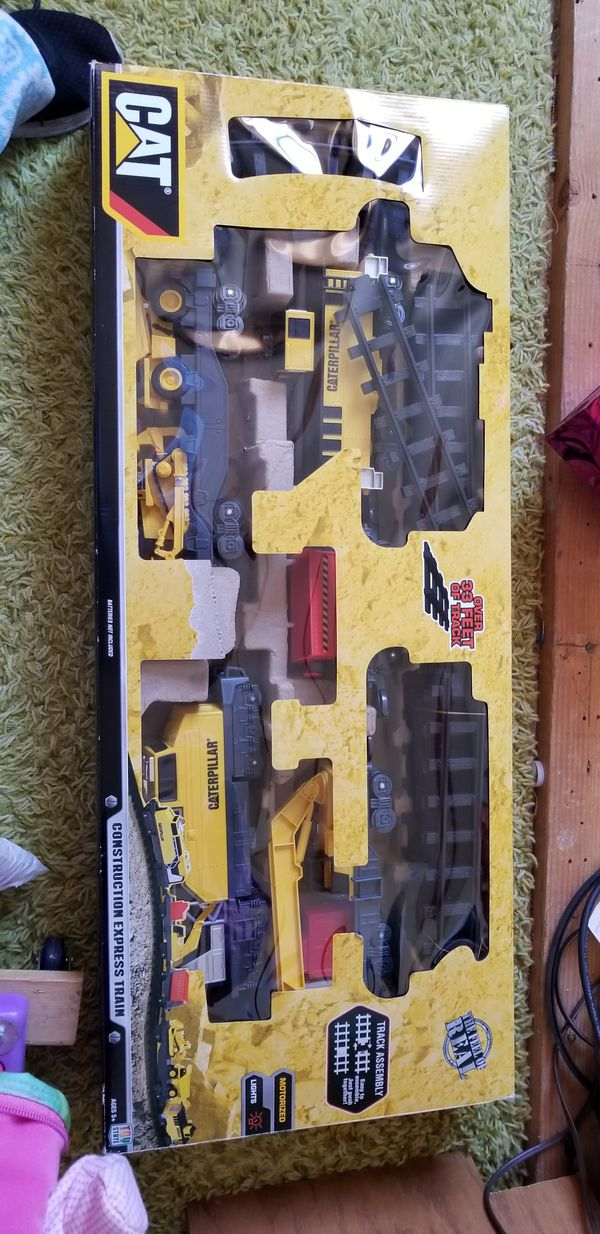 Cat construction express train. Never used excellent condition