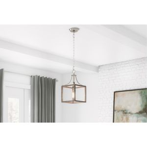 Beautiful brushed nickel kitchen island pendant light for Sale in Las Vegas, NV