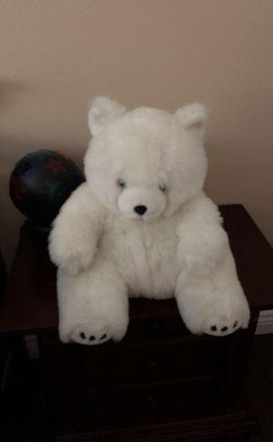 White kids stuffed teddy bear for Sale in Poway, CA