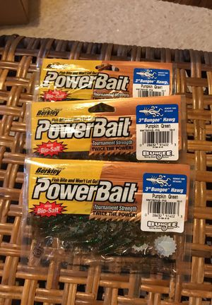 Powerbait 3 dollars a piece for Sale in Severna Park, MD