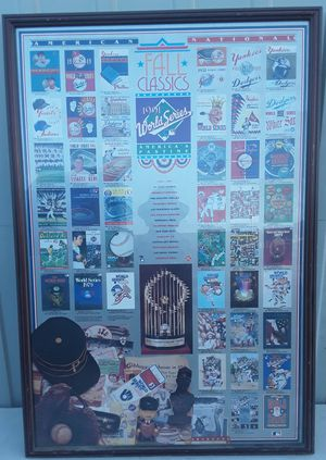 MLB 1948-1991 World Series American & National League Fall Classics for Sale in Fresno, CA