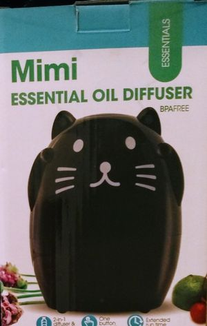 MIMI THE BLACK CAT OIL DIFFUSER & HUMIDIFIER for Sale in Auburn, WA