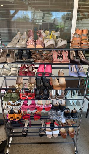 Women used shoes (Nine West, Michael Kors, Zara, CK, Steve Madden, etc..) for Sale in Chatsworth, CA