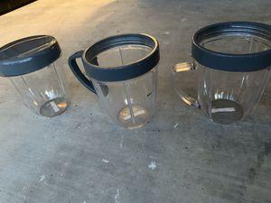 Ninja blender cups for Sale in Fresno, CA