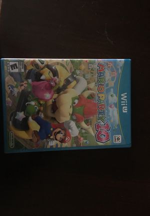 WiiU Mario party 10 for Sale in San Bernardino, CA