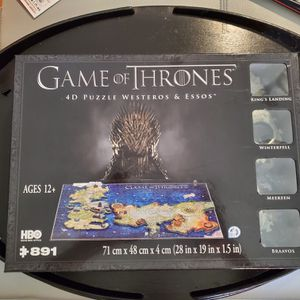 HBOs Game of Thrones Puzzle (891 pieces) for Sale in Phoenix, AZ