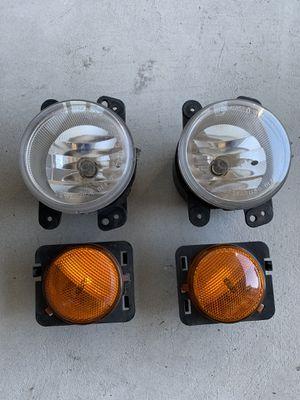 Jeep OEM Fog Lights & Side Marker for Sale in Bremerton, WA