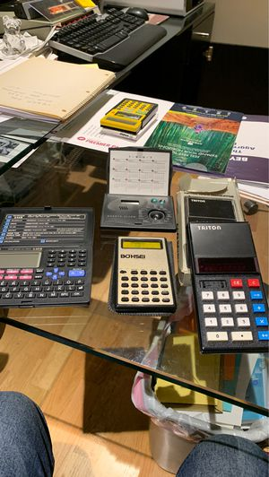 Vintage calculators data bank and more! for Sale in Anaheim, CA