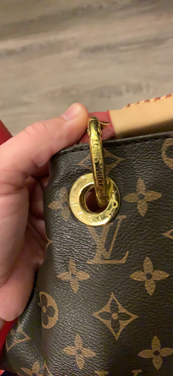 Authentic Louis Vuitton bag and storage bag