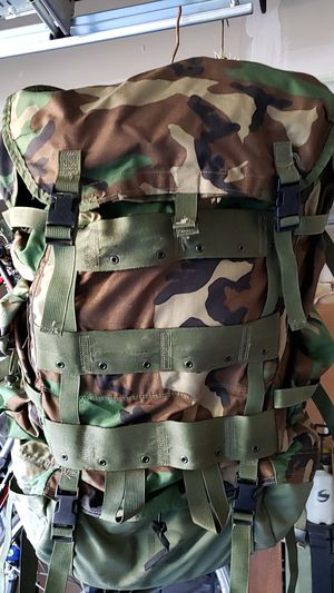 Army Large Back Pack Rucksack Internal Frame for Sale in Bonney Lake, WA
