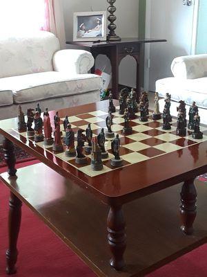 Chessboard+2009 Robin hood chessset for Sale in Richmond, VA