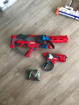 Set of Nerf guns with darts for Sale in Fort Lauderdale, FL