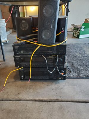 Stereo receivers, cd player, speakers for Sale in Phoenix, AZ