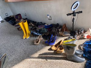 Fendi Rain boots yellow designer for Sale in Los Angeles, CA