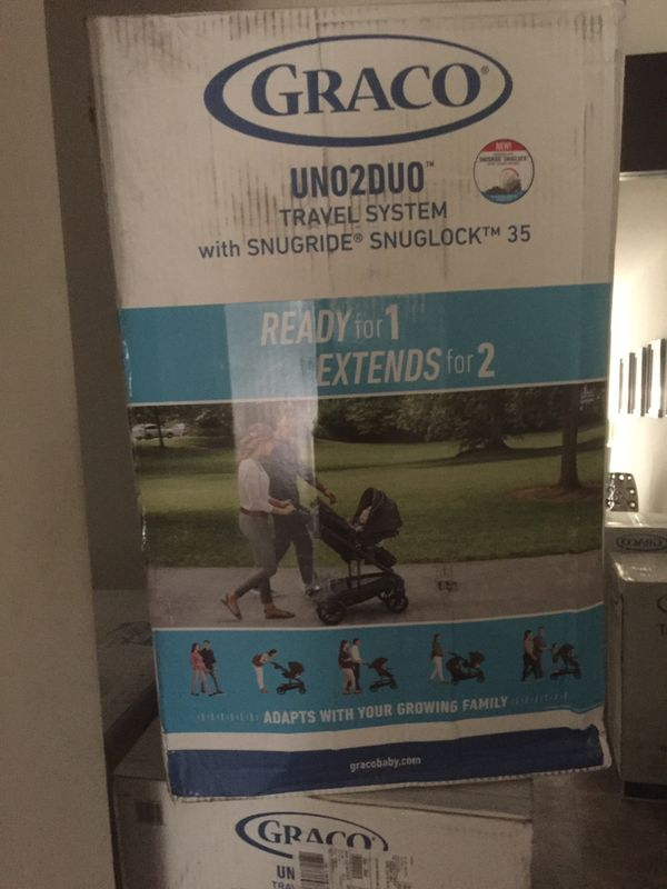 Graco uno2duo stroller and car seat all in one