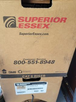 Cat 6 Wire 2 Boxes 2000ft for Sale in Hollywood,  FL