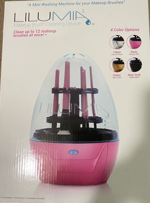 Lilumia2 makeup brushes cleaner (Black) for Sale in San Diego, CA