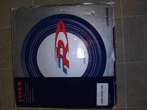 New Alpine Type R 15inch Dual 4Ohm Voice Coi for Sale in Berkeley, CA
