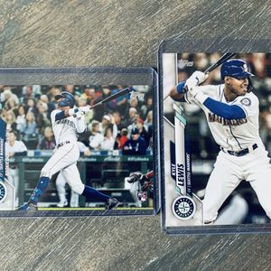 Kyle Lewis Rookie Card Topps 2020 Update Series And Series One for Sale in Vista, CA