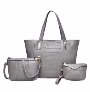 $20 only gray handbags shoulder bag set last one for Sale in US