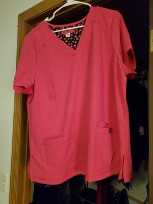 New Betsey Johnson 2X scrub top - hot pink for Sale in Marysville, WA