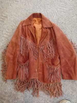 MEN COWBOY FRINGE JACKET 125 SIZE LG for Sale in Greensboro, NC