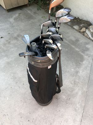 Wilson golf clubs $145 OBO for Sale in Rancho Cucamonga, CA