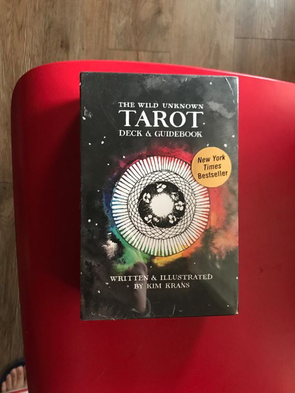 Tarot cards with guide book brand new never opened
