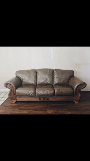 3-Piece Genuine leather Couch for Sale in San Diego, CA