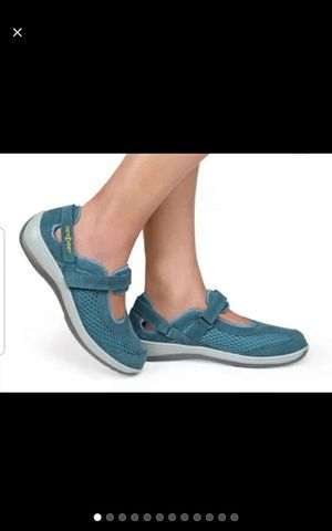 Orthofeet sanibel blue Mary Jane shoes size 7 for Sale in Rosemead, CA