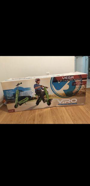 Vega 2-in-1 Transforming Electric Scooter & Mini Bike, for Sale in Falls Church, VA