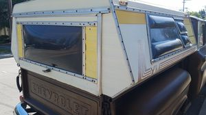 FREE..... old school camper shell for short bed stepside. for Sale in Redwood City, CA