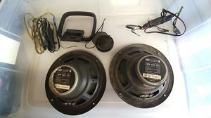 "Mb quart 6"" speakers crossover(x2) and *1 single tweeter for Sale in La Mesa, CA"