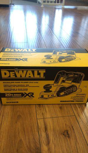 Dewalt DCP580 brushless Hand planer for Sale in Santa Clara, CA