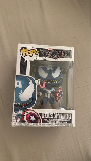 Venomized captain America pop for Sale in Los Angeles, CA