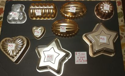 Copper pans for Sale in Garland,  TX