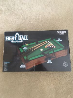 Table top pool table game for Sale in Sanford, FL